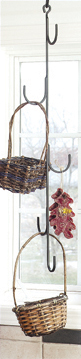 NO LONGER AVAILABLE - 32 Inch Long Hanging Hooks for Drying Herbs, Flowers or Displaying Decorative Baskets