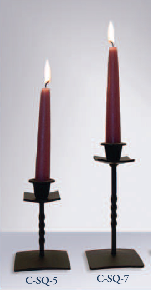 Taper Candle Holder 7 to 8 1/2 Inches High