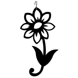 Shasta Daisy - Decorative Hanging Silhouette