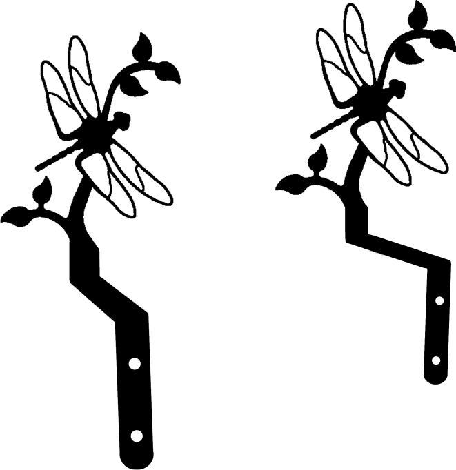 Dragonfly - Curtain Swags