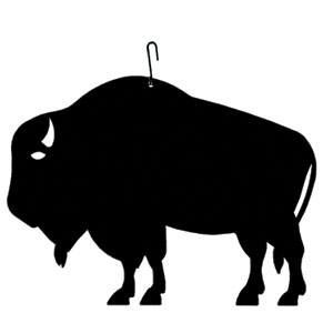 Buffalo  - Decorative Hanging Silhouette