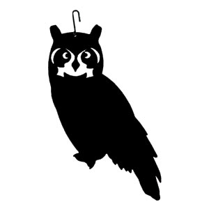 Owl - Decorative Hanging Silhouette