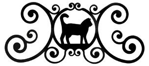 Cat - Over Door Plaque
