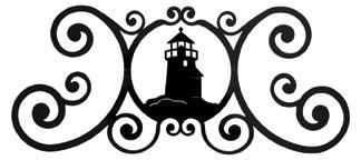 Lighthouse - Over Door Plaque