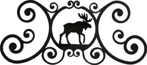 Moose - Over Door Plaque