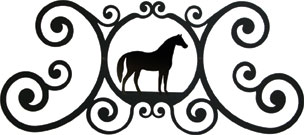 Horse - Over Door Plaque