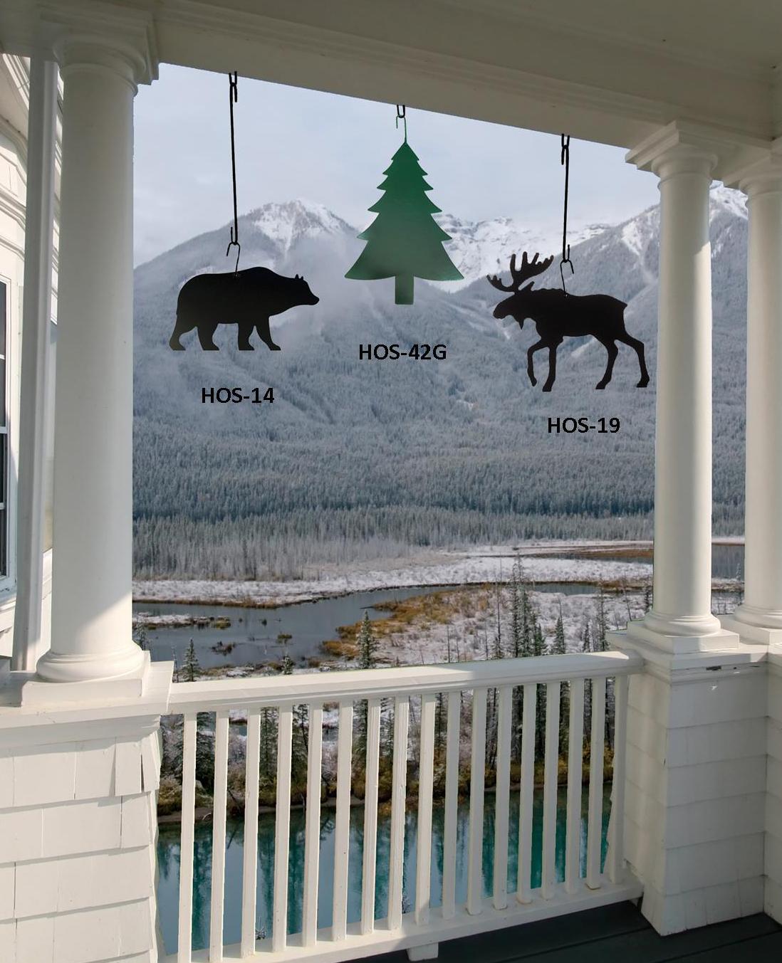 Moose - Decorative Hanging Silhouette
