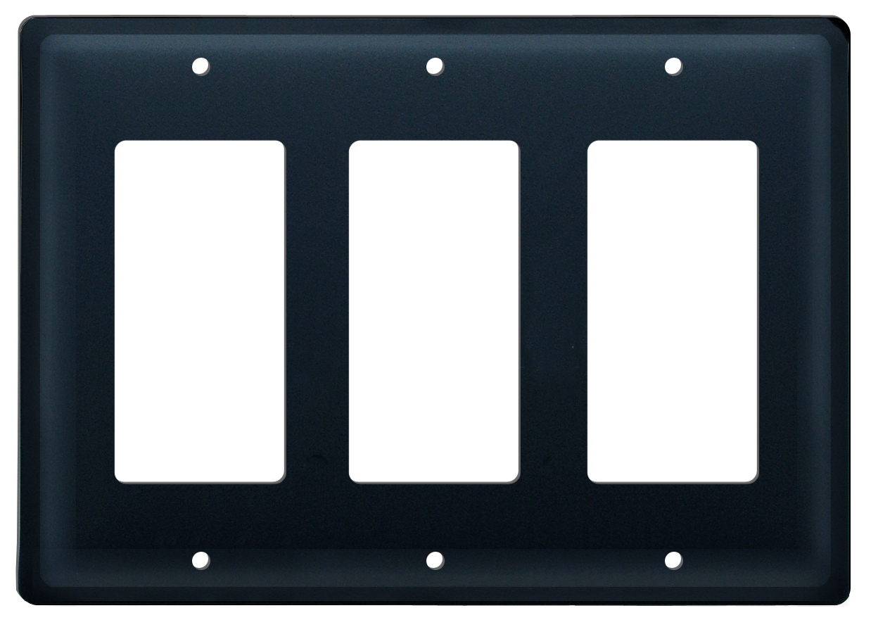 Plain - Triple GFI Cover