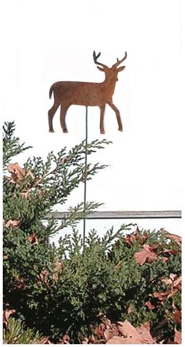 Deer - Rusted Garden Stake
