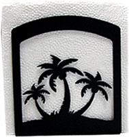 Triple Palm Tree Napkin Hldr