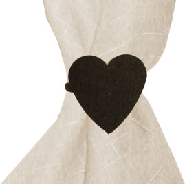 Heart - Napkin Ring