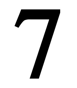Number 7 Small