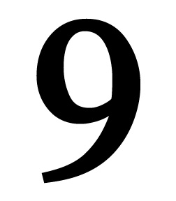 Number 9 Small