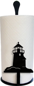Lighthouse - Paper Towel Stand