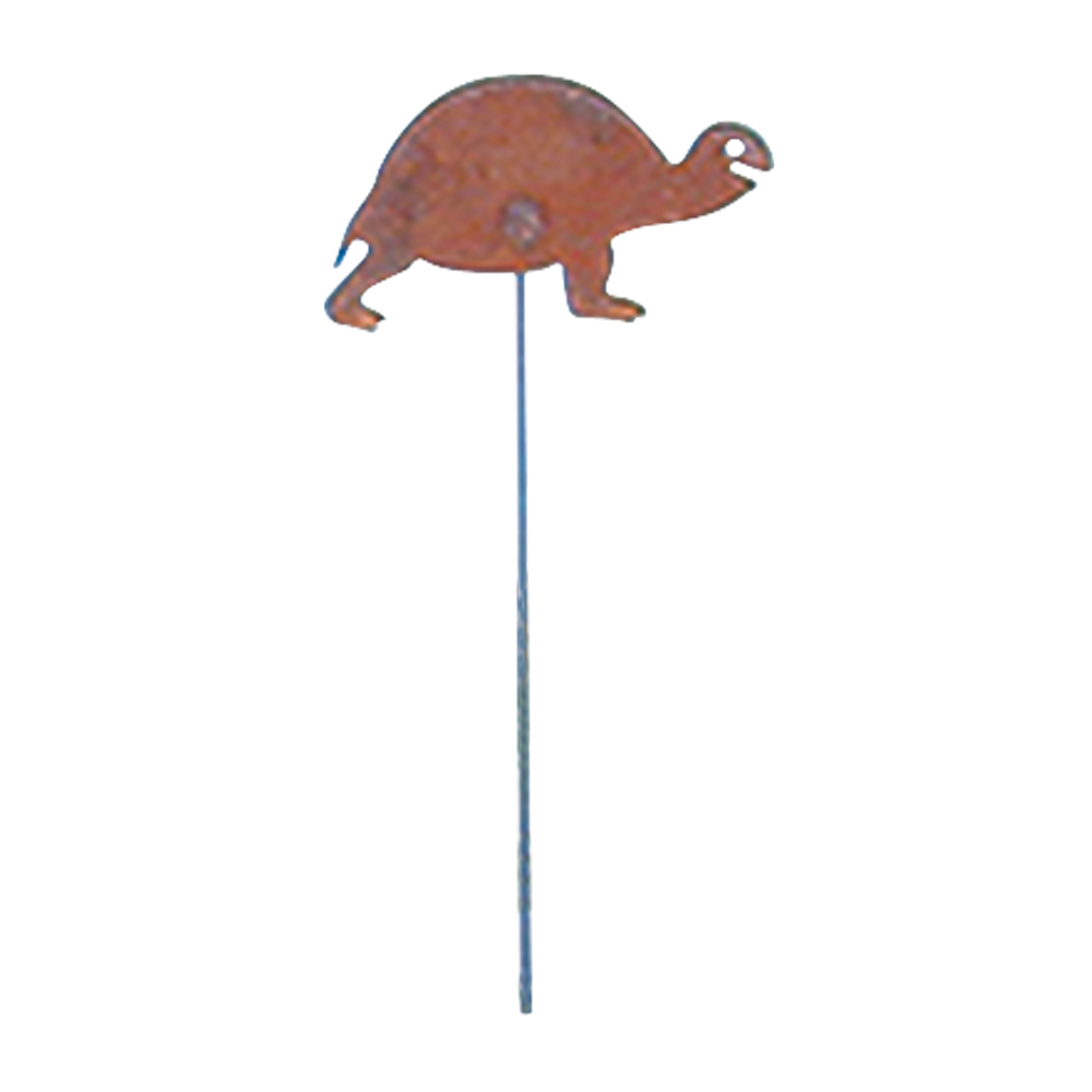 Turtle - Rusted Garden Stake