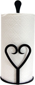Heart - Paper Towel Stand