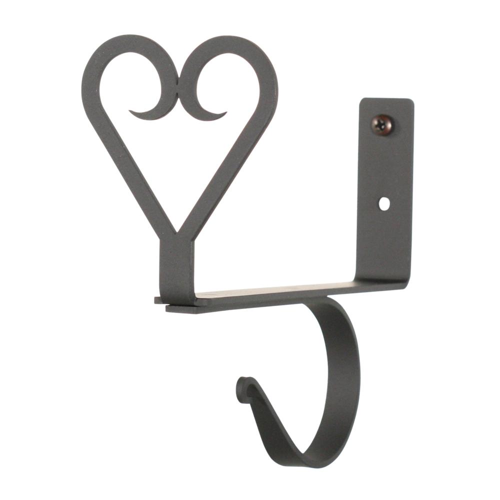 Heart - Curtain Shelf Brackets