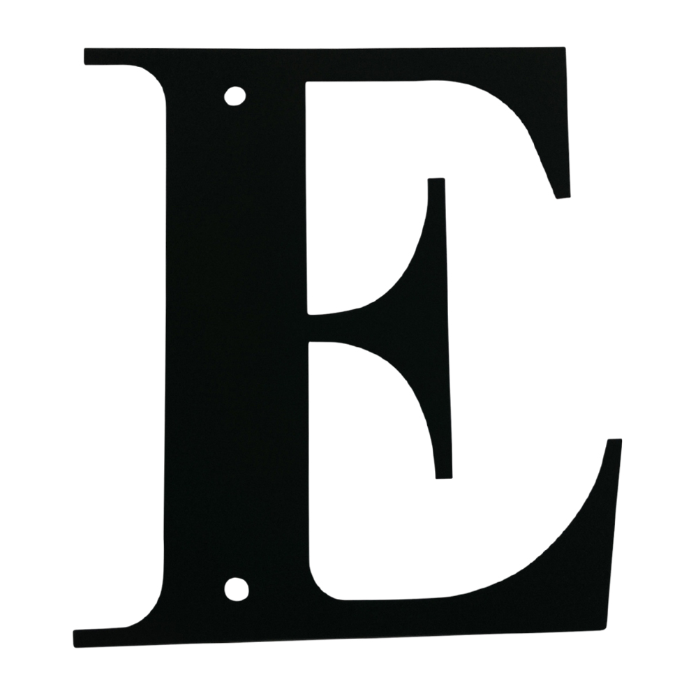 Letter E Small
