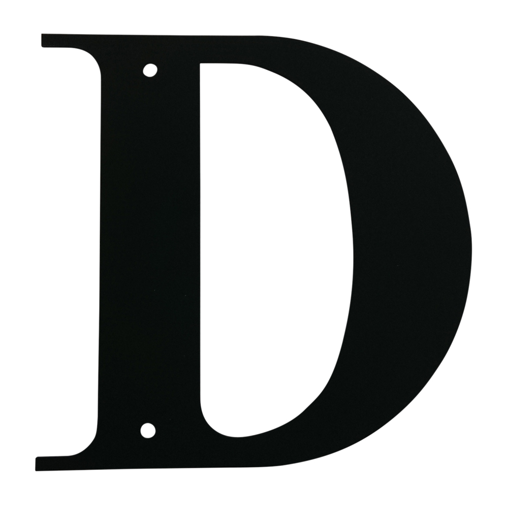Letter D Small
