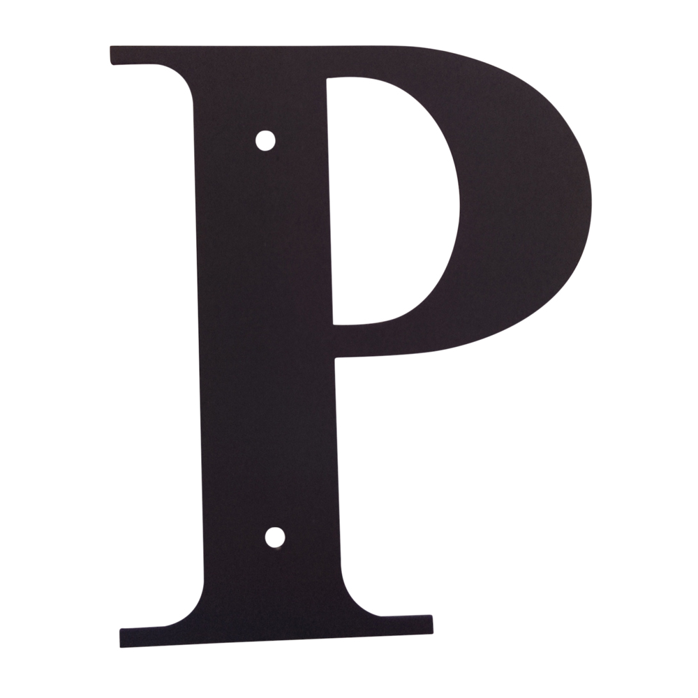 Letter P Small