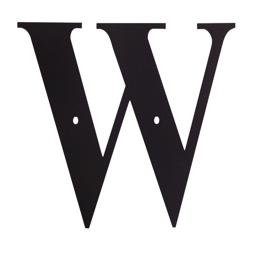 Letter W Large