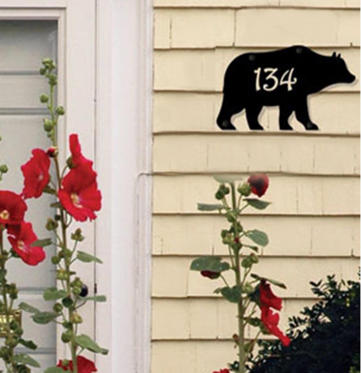 Bear - Customized House Plaque