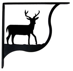Deer - Shelf Brackets Medium