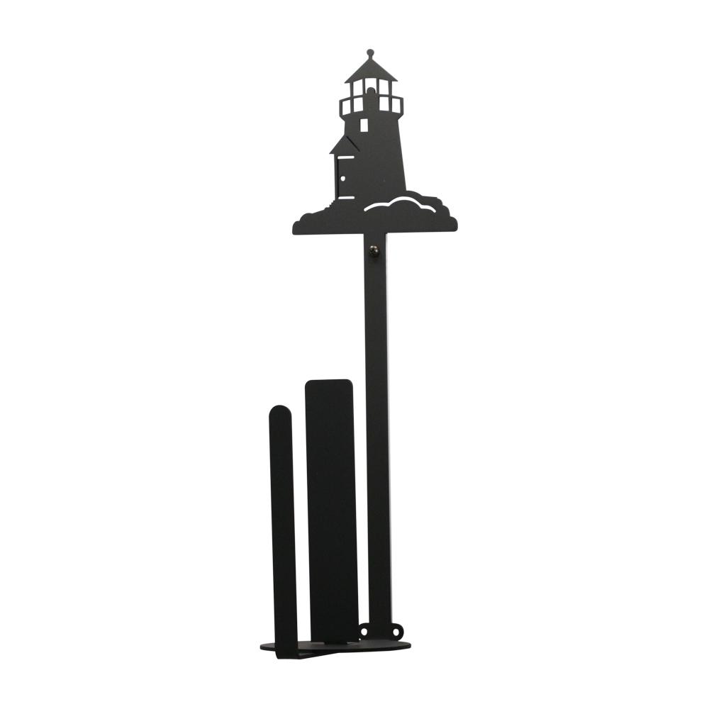 Lighthouse - Paper Towel Holder Holder Vertical Wall Mount
