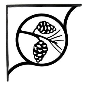 Pinecone - Shelf Brackets Large
