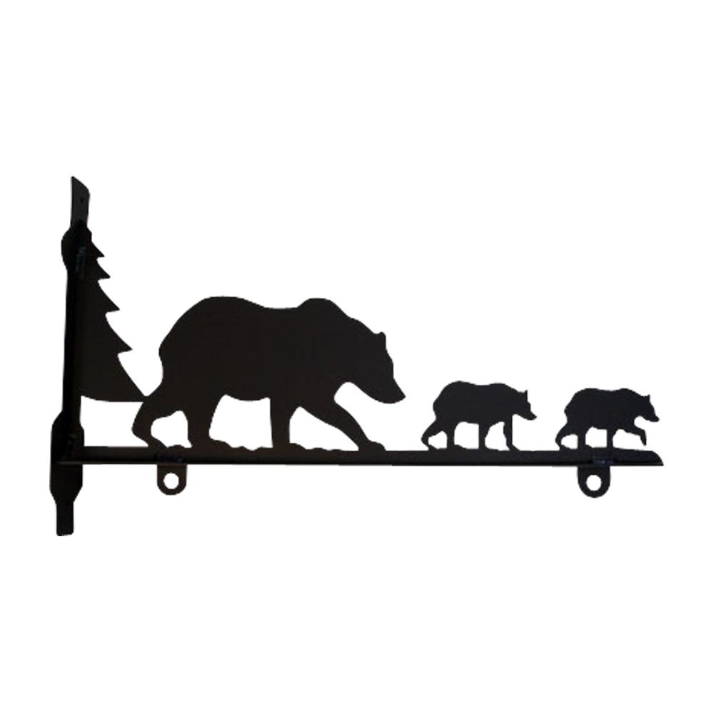 Bear Family - Sign Bracket 36 Inch