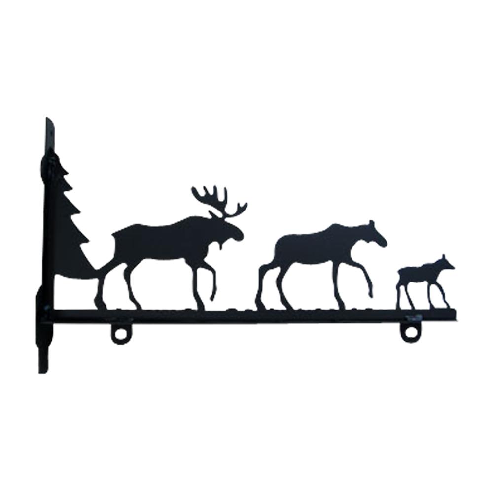 Moose Family - Sign Bracket 24 Inch