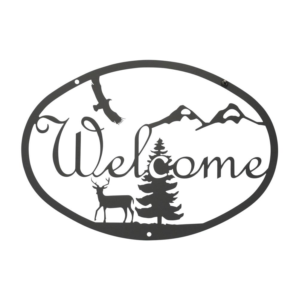 Deer - Welcome Sign Medium