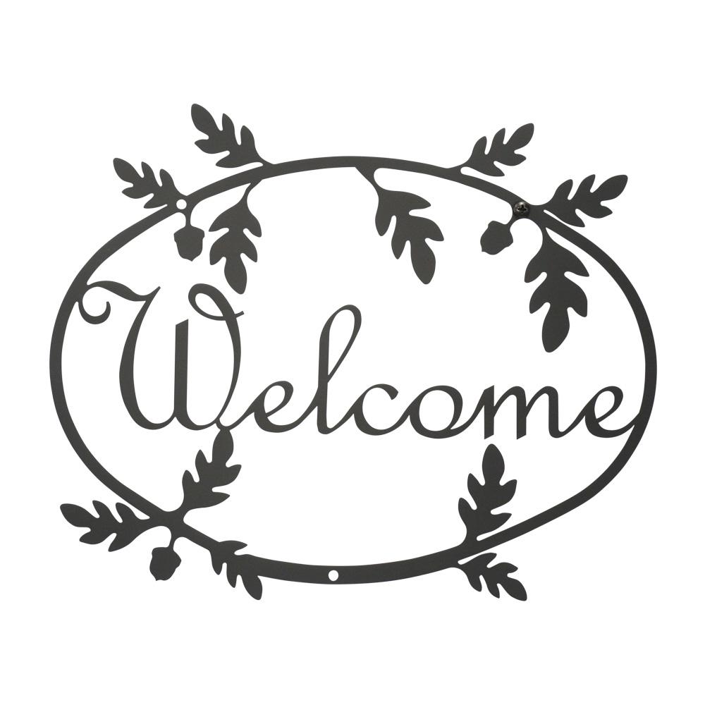 Acorn - Welcome Sign Medium