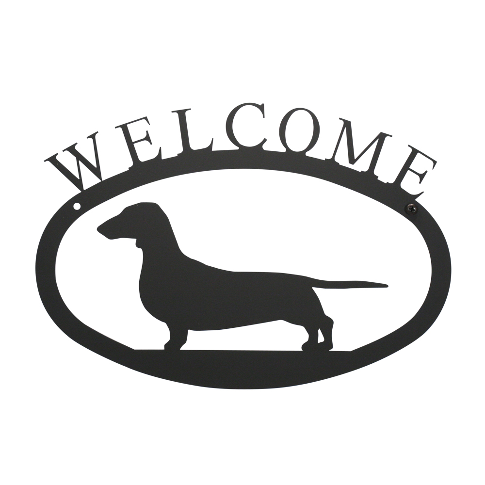 Dachshund - Welcome Sign Small
