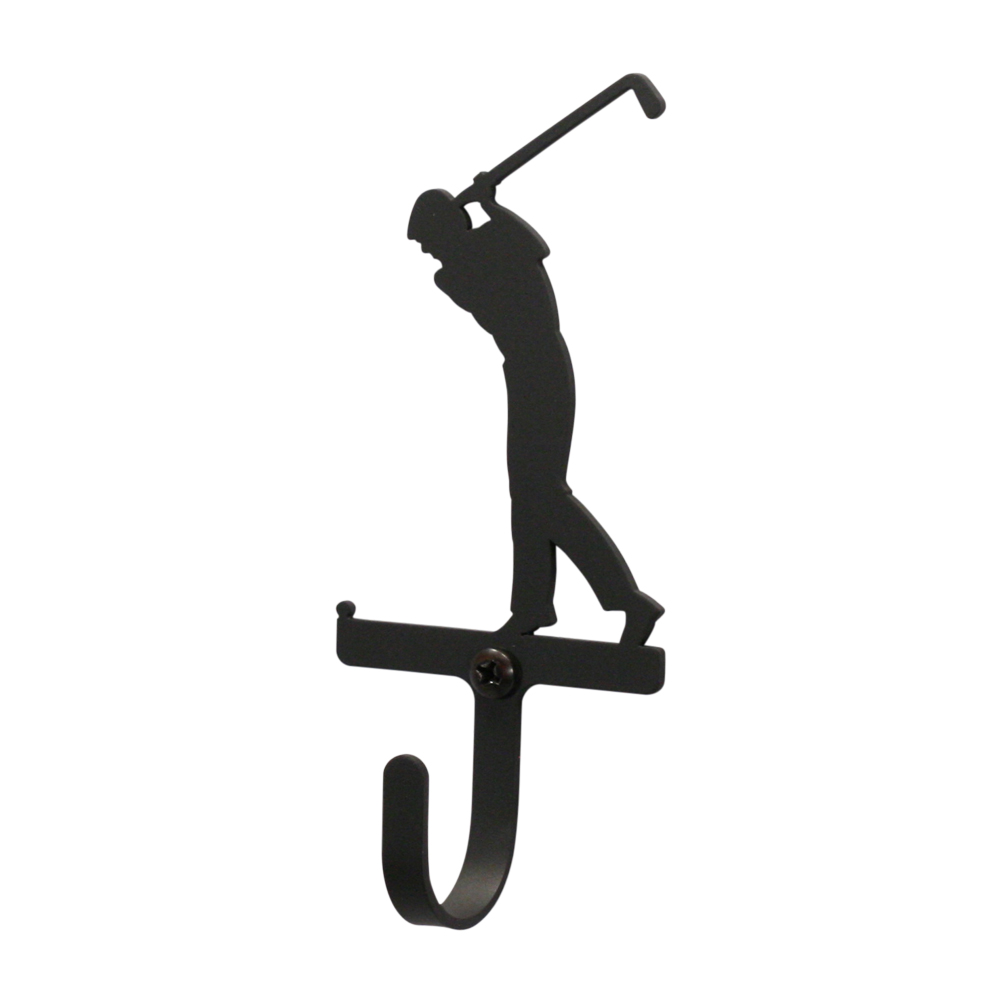 Golfer Men's / Boy's - Wall Hook Small