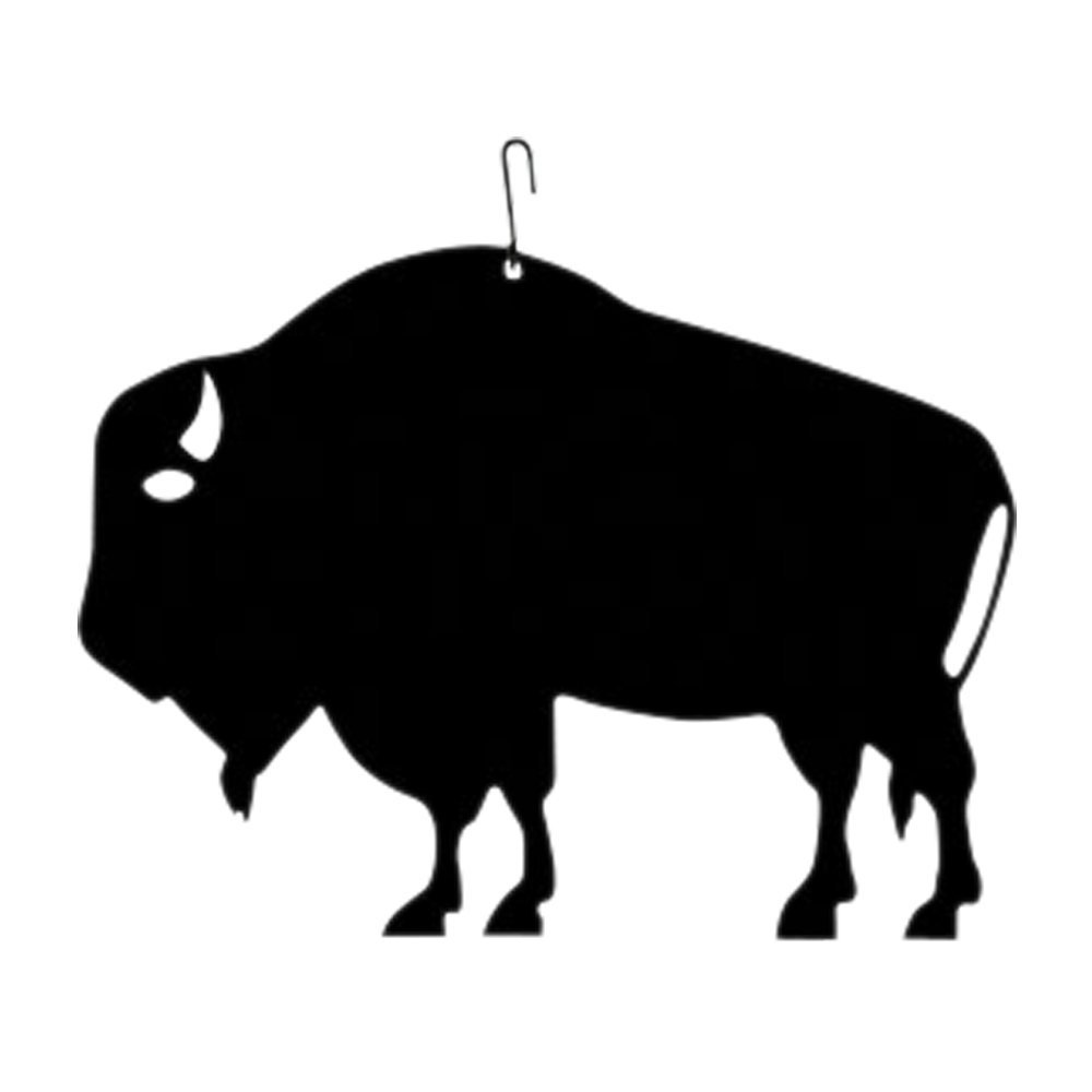 Buffalo  - Decorative Hanging Silhouette