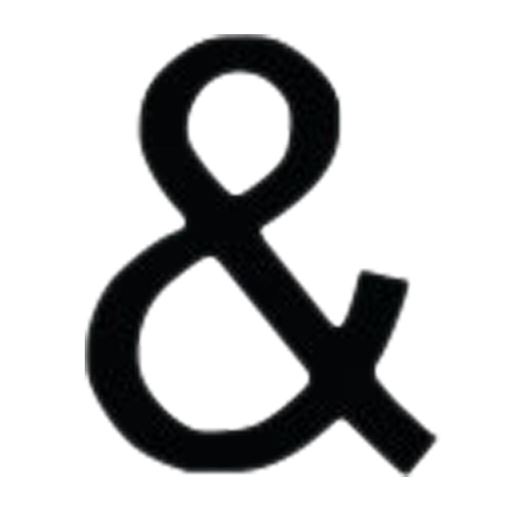 Letter Ampersand Medium