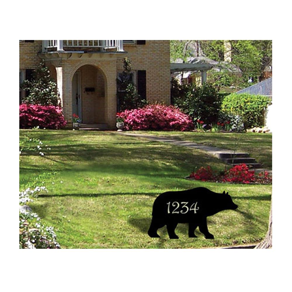 Bear - Customized Lawn Plaque