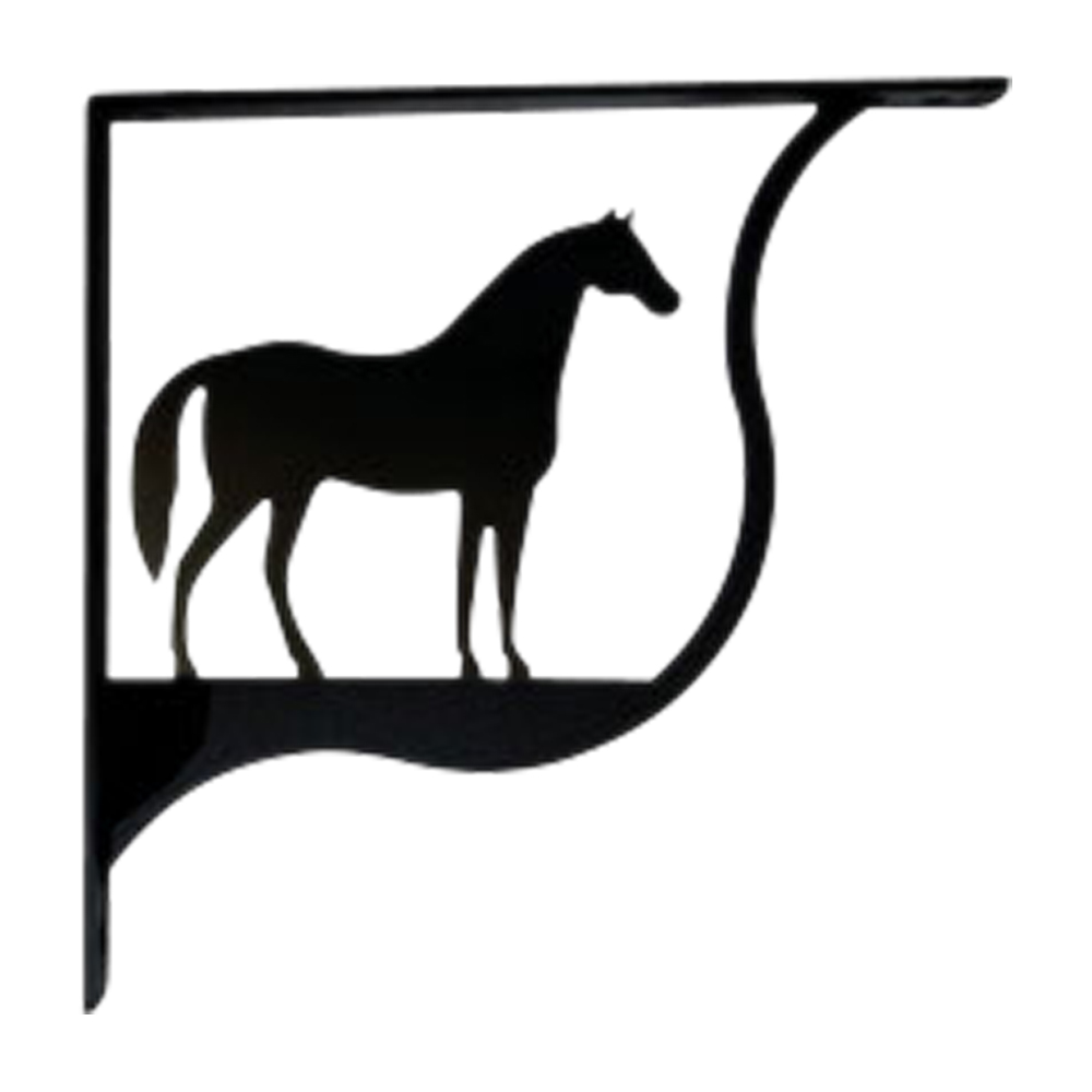Horse Shelf Bracket Small