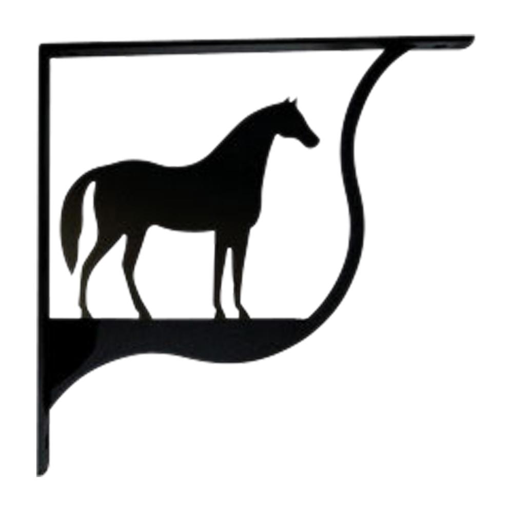 Horse Shelf Bracket Medium