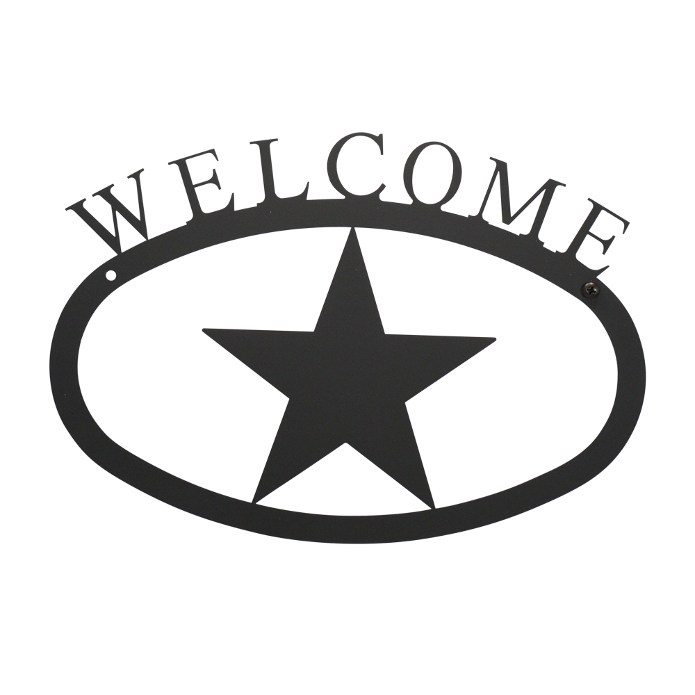 Star - Welcome Sign  Large