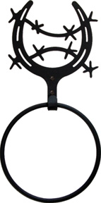 Horseshoe  - Towel Ring - Current price is 3 OFF the Regular Price! ...Hurry while supplies last.