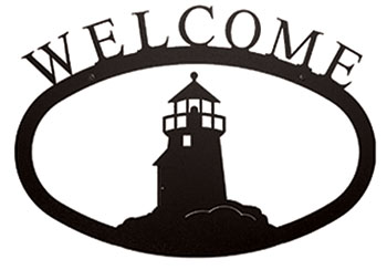 Lighthouse - Welcome Sign Large