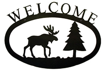 Moose & Pine - Welcome Sign Large