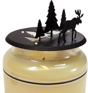 Moose & Pine - Candle Jar Topper