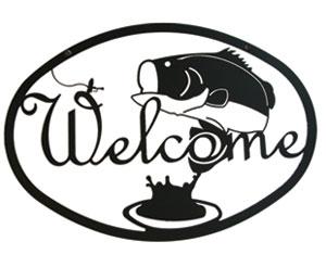 Bass - Welcome Sign Medium