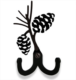 Pinecone - Double Wall Hook