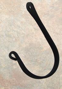 Fancy Curl Wall Hook