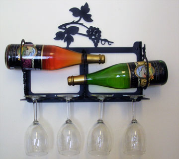 Grapevine Wine Rack - Wall Mount Extra Small