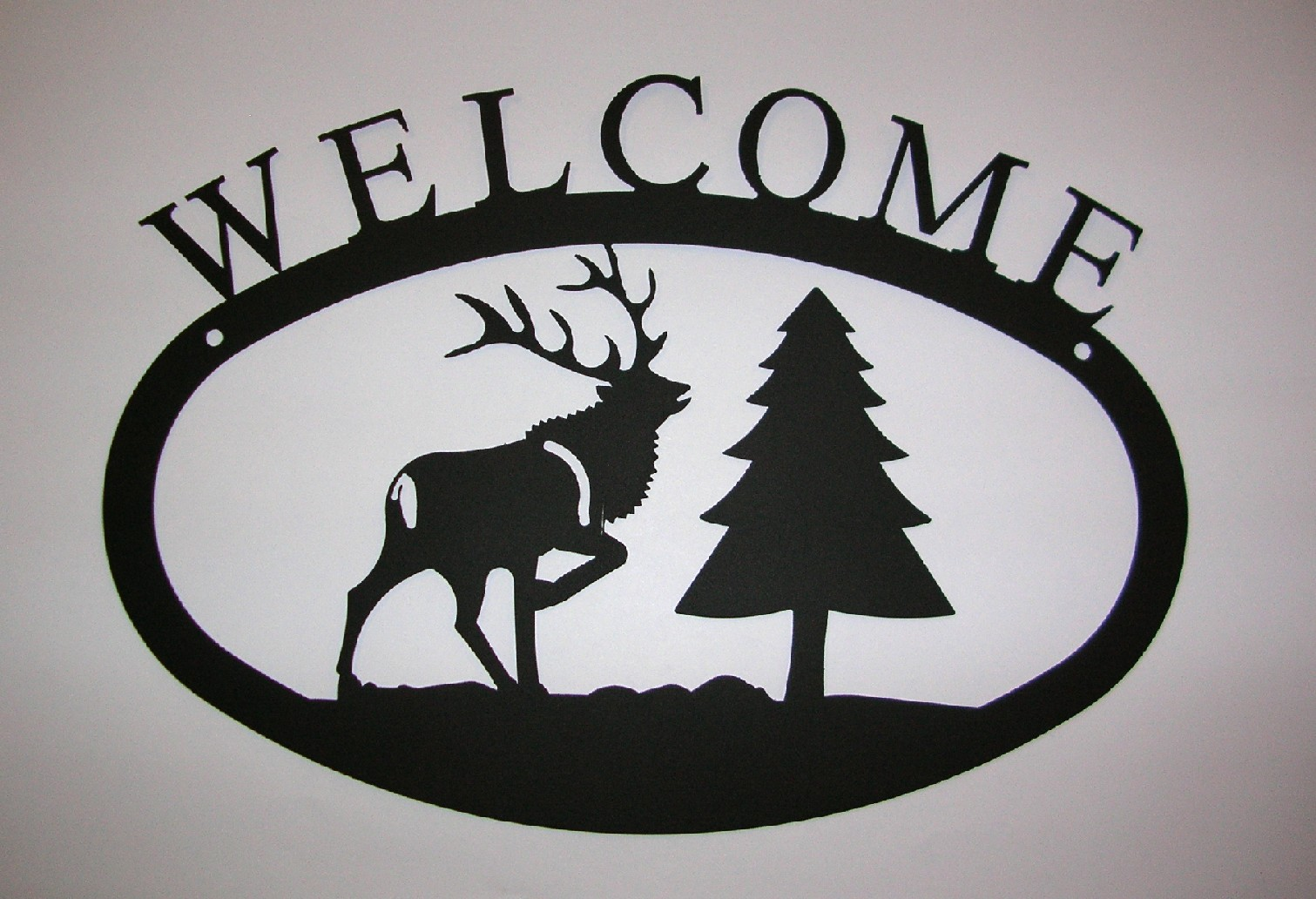 Elk & Pine - Welcome Sign Small
